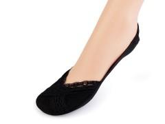 Csipke mintás balerína pamut zokni Női zoknik, harisnyák
