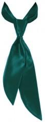 Zsorzsett női nyakkendő - Sötétzöld