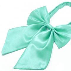 Szatén női csokornyakkendő - Mentazöld Női nyakkendők, csokornyakkendő