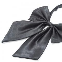 Szatén női csokornyakkendő - Sötétszürke Női nyakkendők, csokornyakkendő