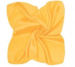Zsorzsett szatén női kendő - Aranysárga