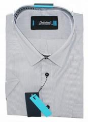 Goldenland extra rövidujjú ing - Fehér halszálkás Rövidujjú ing