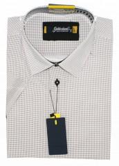 Goldenland smart fitt hosszúujjú ing - Fekete pöttyös Rövidujjú ing