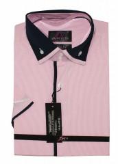 Ares r.u. férfi ing - Rózsaszín Rövidujjú ing