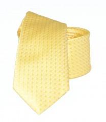 Goldenland slim nyakkendő - Sárga aprómintás