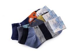 Gyerek mintás titokzokni - 3 db/csomag Gyermek zokni, mamusz