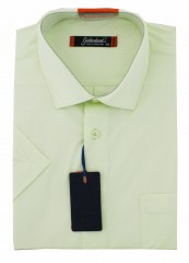 Goldenland rövidujjú ing - Lime Normál fazon