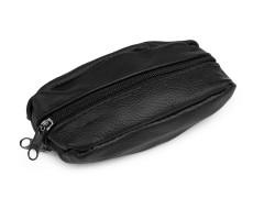 Bőr kulcstartó - Fekete Férfi táska, pénztárca