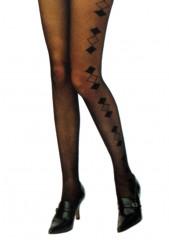 Nora mintás 20 DEN harisnyanadrág Női zokni, harisnya, pizsama