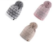 Téli sapka norvég mintával Férfi kalap, sapka