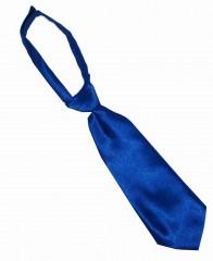 Szatén női tépőzáras nyakkendő - Királykék Női nyakkendők, csokornyakkendő