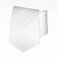 Classic prémium nyakkendő - Fehér csíkos Csíkos nyakkendő