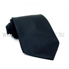 Fekete selyem nyakkendő