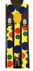 Gyerek nadrágtartó - Pöttyös színes Gyermek nadrágtartók
