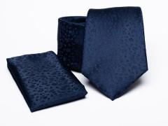 Prémium nyakkendő szett - Sötétkék Nyakkendő szettek