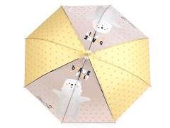 Gyerek kilövős esernyő - Medve Gyerek esernyő, esőkabát