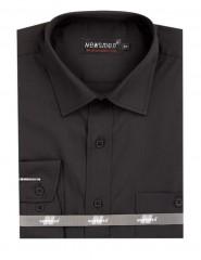 Newsmen h.u normál ing - Fekete Egyszínű ing