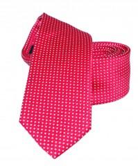 Goldenland slim nyakkendő - Meggypiros pöttyös