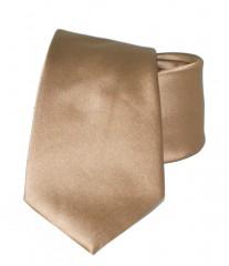 NM Szatén nyakkendő - Aranybarna