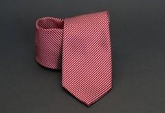 Prémium nyakkendő - Piros csíkos