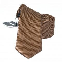 NM slim szatén nyakkendő - Karamell