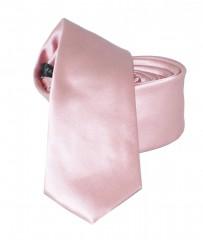 NM slim szatén nyakkendő - Rózsaszín