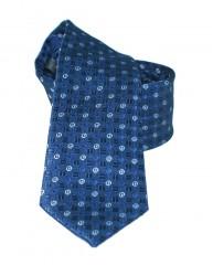 NM slim nyakkendő - Kék mintás