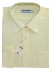 Newsmen h.u normál ing - Halványsárga Egyszínű ing