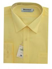 Newsmen h.u normál ing - Sárga Egyszínű ing