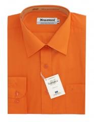 Newsmen h.u normál ing - Narancs Egyszínű ing