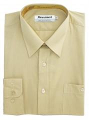 Newsmen h.u normál ing - Drapp Egyszínű ing