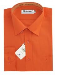 Newsmen h.u normál ing - Sötétnarancs Egyszínű ing