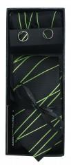 NM nyakkendő szett - Zöld-fekete Mintás nyakkendők