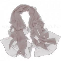 Muszlin női kendő - Világosszürke