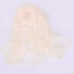 Muszlin női kendő - Ecru