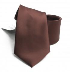 NM szatén nyakkendő - Barna