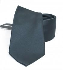 NM szatén nyakkendő - Sötétszürke