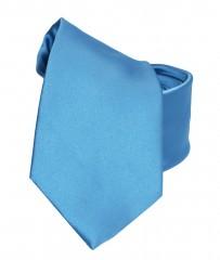 NM szatén nyakkendő - Égszínkék