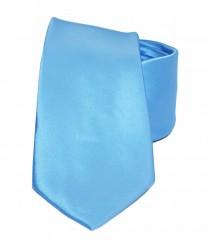 NM szatén nyakkendő - Világoskék