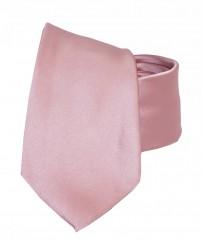 NM szatén nyakkendő - Púderrózsaszín