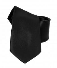 NM szatén nyakkendő - Fekete