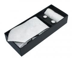 NM nyakkendő szett - Fehér mintás Mintás nyakkendők