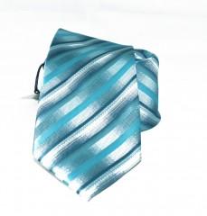 NM classic nyakkendő - Tűrkíz csíkos