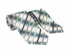 NM apa-fia nyakkendő szett - Barna csíkos