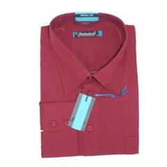 Goldenland extra hosszúujjú ing - Bordó Hosszúujjú ingek