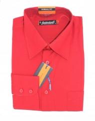 Goldenland hosszúujjú ing - Piros Normál fazon