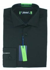Goldenland slim hosszúujjú ing - Fekete Slim, Smart fazon