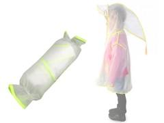 Gyerek kapucnis esőkabát Gyerek esernyő, esőkabát