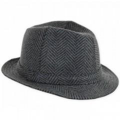 Férfi bécsi kalap - Halszálkás Férfi kalap, sapka