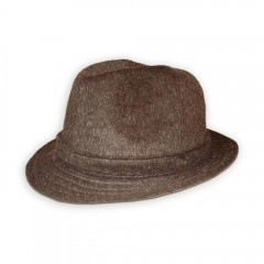 Férfi bécsi kalap - Barna Férfi kalap, sapka
